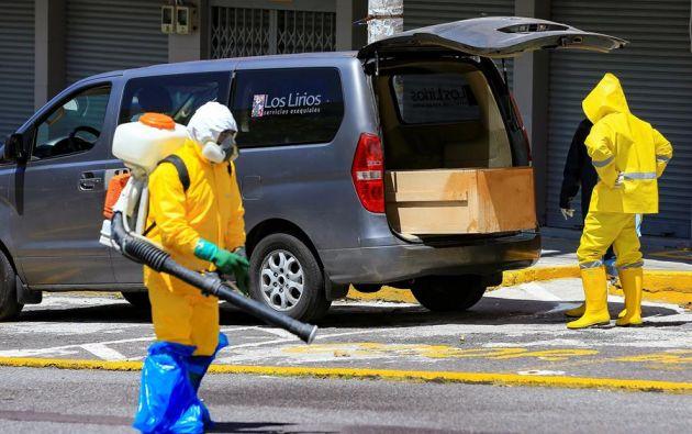 En Guayas y Pichincha se constata también el mayor número de fallecidos. Foto: EFE