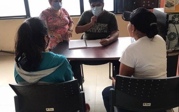 En Gualaquiza, equipos de la Secretaría de Derechos Humanos brindaron acompañamiento psicosocial a adolescente, reportada como desaparecida y que fue encontrada.