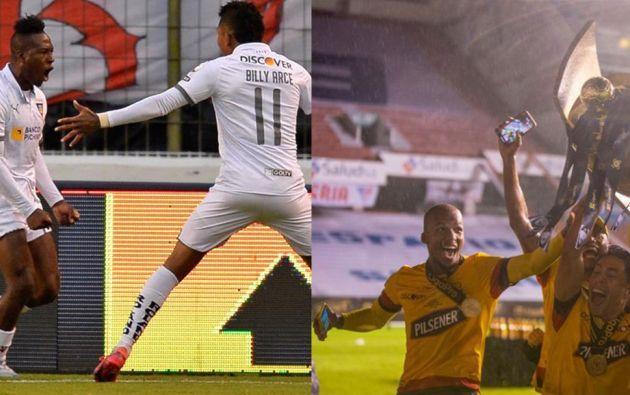 En la Supercopa participarán Liga de Quito, como último ganador de ese torneo, y Barcelona, campeón de la Liga Pro 2020.