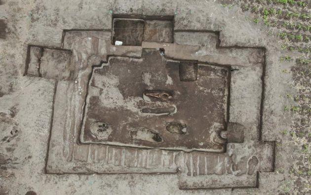 """El hallazgo de doce osamentas en una """"cancha"""" inca en Latacunga puede arrojar luz sobre los usos y formas de vida en el periodo intercolonial andino. Foto: EFE."""
