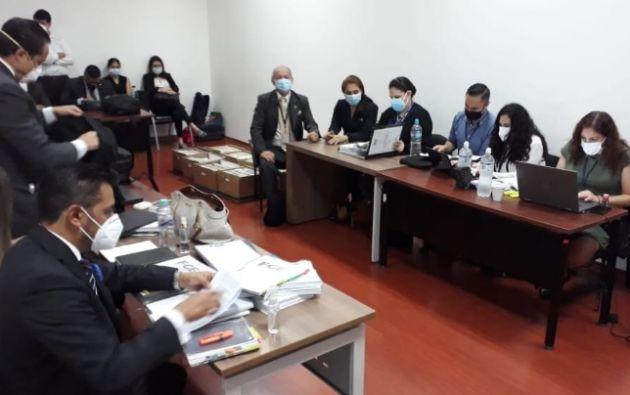 Fiscalía solicitó al Juez que los procesados sean llamados a juicio y que se ratifiquen las medidas cautelares en su contra.