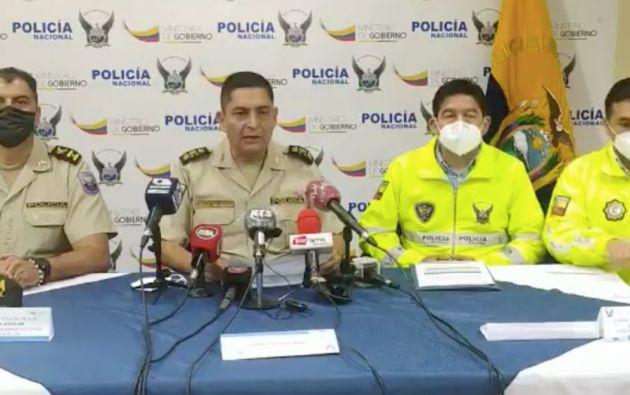 Foto: @PoliciaEcuador
