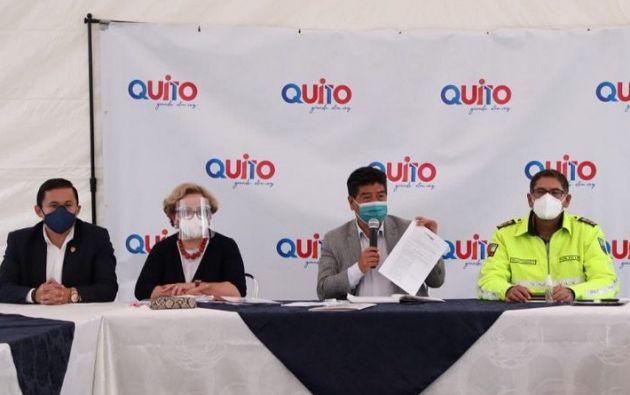 """""""La falta de conciencia de ciertos sectores de la población pone en peligro el colapso del sistema sanitario"""" indicó Yunda."""