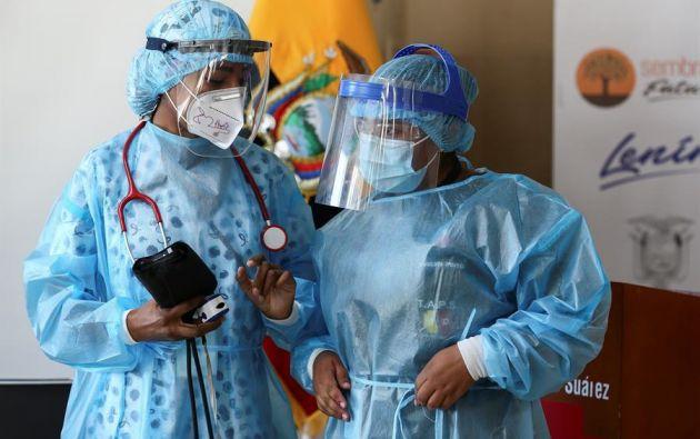 Quito es la ciudad más afectada con 76.838 contagios, 320 más que el jueves. Foto: EFE
