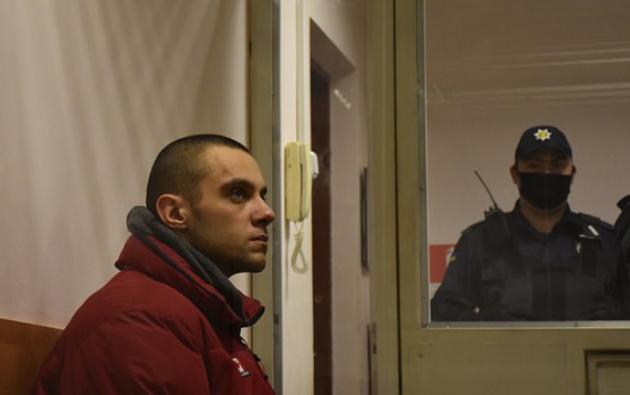 El sujeto enfrenta una pena de hasta 15 años de prisión por doble asesinato. Foto: Policía de Ucrania.