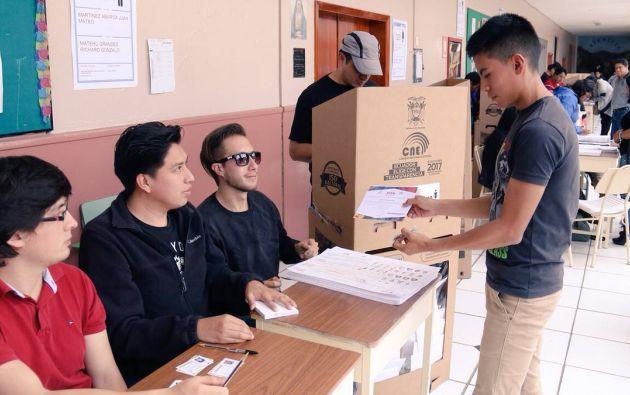 Según los cálculos, el grupo joven de los empadronados a votar para las elecciones del 7 de febrero, representa el 44%. Las edades oscilan entre 18 y 35 años.