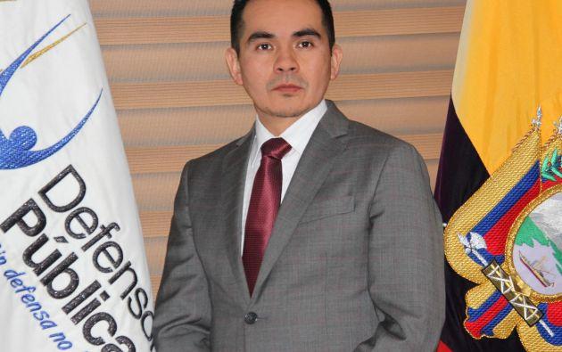 Defensor Público General, Ángel Torres Machuca. Foto: Cortesía