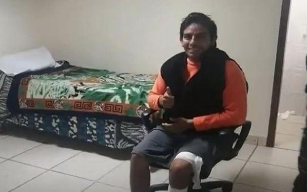 Daniel Salcedo habría grabado su video en Tik Tok con los dispositivos permitidos para que los reos estudien a distancia, y no con un teléfono celular.
