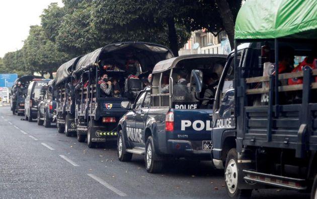 Los militares justificaron el golpe por un supuesto fraude en las elecciones del pasado noviembre. Foto: EFE