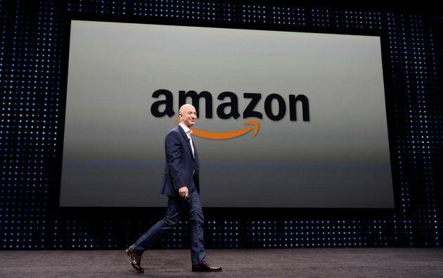 Jeff Bezos dejará de ser consejero delegado de Amazon y le sustituirá Jassy. Foto: EFE