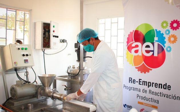 El programa ha beneficiado a más de 2.700 emprendedores y productores de Manabí y Esmeraldas. Foto: Cortesía.