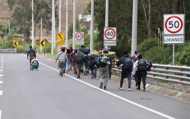 Las fronteras permanecen  cerradas desde marzo de 2020 a raíz de la pandemia. Foto: EFE.