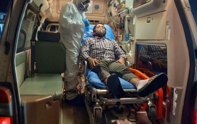 El mexicano presentó un cuadro de insuficiencia respiratoria no especificada.