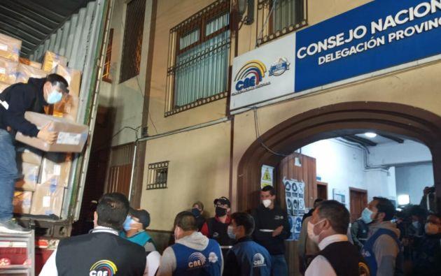 Las elecciones comenzaron con el voto de las personas privadas de libertad, este jueves 4 de febrero. Foto: API