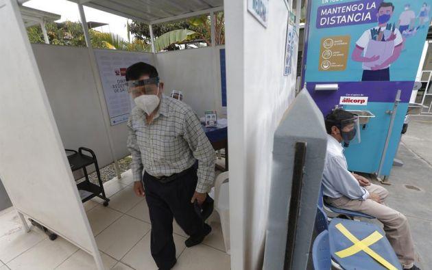La detección de estas variantes estuvo en manos del Instituto Nacional de Salud (INS), de Perú. Foto: EFE