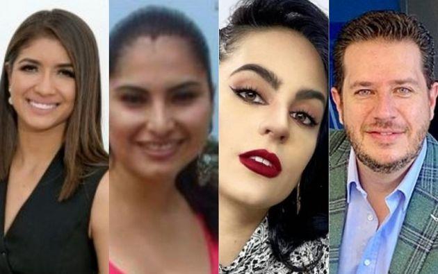 Dayanna Monroy, Marilú Capa, María Elisa Padilla y Carlos Rojas son algunos de los periodistas que han sufrido agresiones. Foto: Collage Vistazo