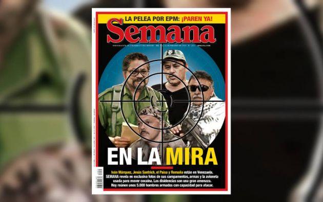 """Todos ellos se salieron del acuerdo de paz para formar, bajo el mando de """"Iván Márquez"""", una disidencia llamada """"Segunda Marquetalia"""". Foto tomada de Revista Semana"""