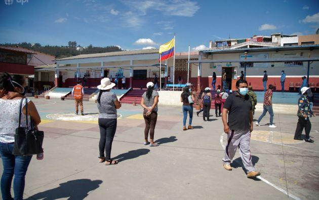 """El consejero del CNE Luis Verdesoto consideró que la tasa de participación observada en el actual proceso electoral """"es la normal"""". Foto: API"""