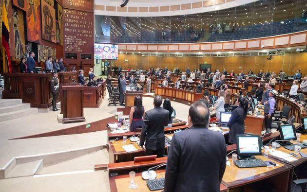 UNES y Pachakutik lideran la votación para la Asamblea.