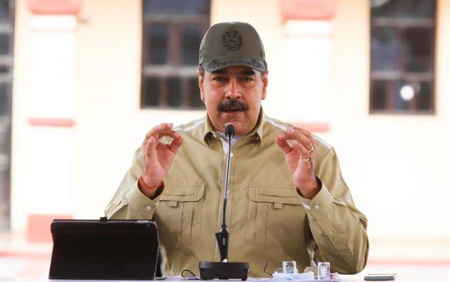 Maduro recibió a la relatora en el palacio presidencial de Miraflores. Foto: Archivo