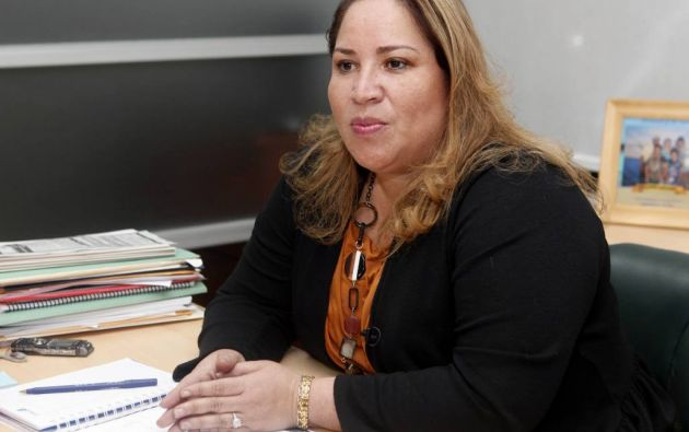 Pamela Martínez es la segunda sentenciada en cumplir su pena. Foto: Archivo