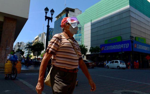 """""""Cada vez tenemos más variantes en Guayaquil"""", advirtió el investigador. Foto: EFE"""