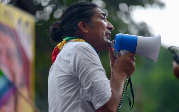 """Vamos a solicitar, a pedir que se abran las urnas para ver las actas voto a voto"", dijo Pérez. Foto: API"