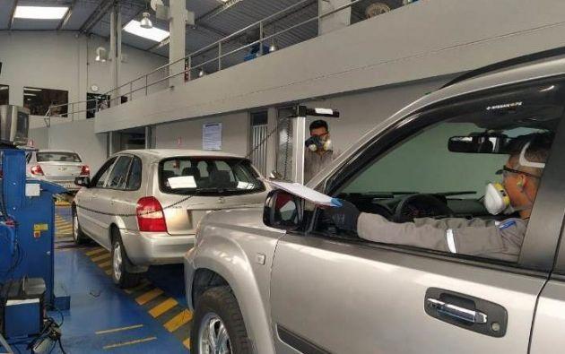 En febrero la matriculación es obligatoria para todos los vehículos con placas terminadas en 1. Foto: Archivo