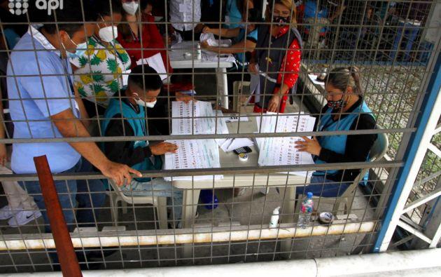 El recuento de votos podría demorar 15 días en Guayas, provincia en la que se van a contabilizar de nuevo el 100 % de los votos. Foto: API.