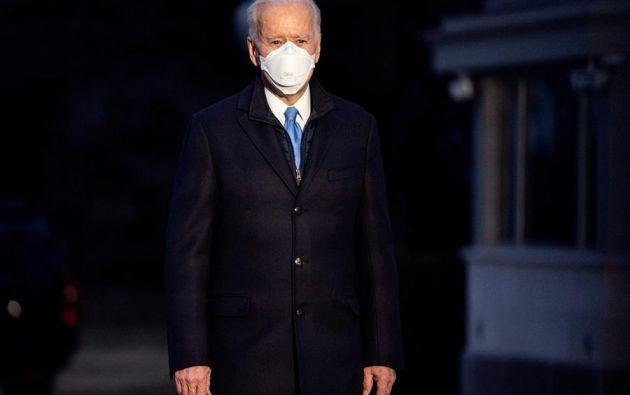 """Solo usando la verdad, argumentó el presidente Joe Biden, EE.UU. será capaz de acabar con la """"guerra no civil"""" entre demócratas y republicanos y """"curar el alma de la nación"""". Foto: EFE."""