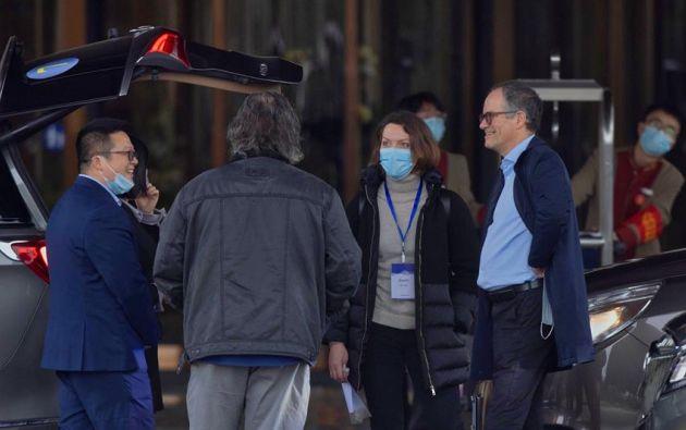 La misión de la Organización Mundial de la Salud (OMS) que visitó China cree que en diciembre de 2019 el coronavirus estaba más extendido de lo que se pensaba en la provincia de Wuhan. Foto: EFE.