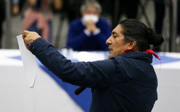 Lasso aventaja ligeramente a Pérez en el escrutinio del CNE por el segundo lugar de las votaciones del 7 de febrero. Foto: EFE
