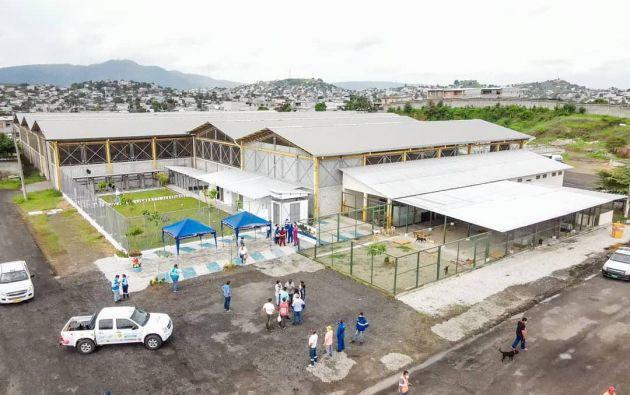 El centro está a cargo de la Unidad de Bienestar Animal del Municipio de Guayaquil.  Foto: Cortesía