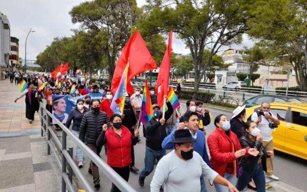 La movilización llegará a la capital -previsiblemente el 23 de febrero-, para manifestarse frente al CNE. Foto: API
