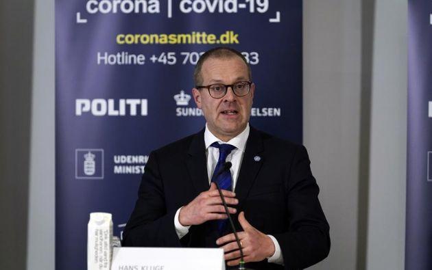 El director regional para Europa de la OMS, Hans Kluge. Foto: EFE
