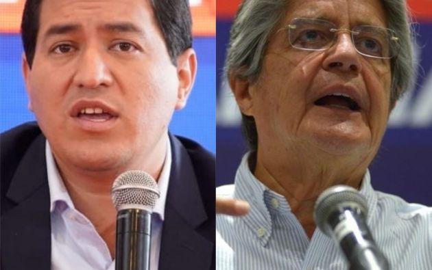El correísta Andrés Arauz y el centroderechista Guillermo Lasso han pasado a una segunda.