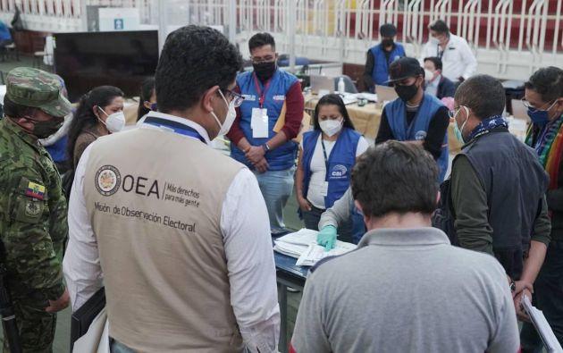 OEA se pronuncia ante denuncias de irregularidades en escrutinio electoral.