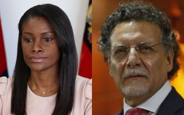 La fiscal Diana Salazar y el contralo Pablo Celi han anunciado acciones tras las denuncias de fraude.