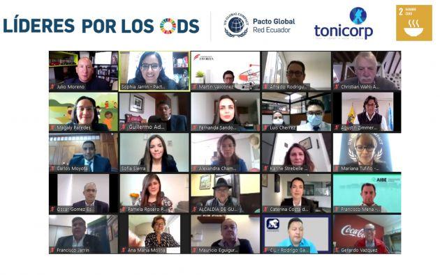 En un evento virtual se anunció el liderazgo de Tonicorp con relación al ODS 2 Hambre Cero en Ecuador.
