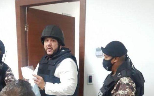 Jacobo Bucaram arribó al Ecuador el pasado 25 de septiembre, luego de ser expulsado de Colombia.