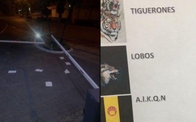 Bajo el nombre del cartel «Nueva Generación», Tiguerones, Los Lobos, ALKQN y Los Chone Kills, advirtieron graves consecuencias.