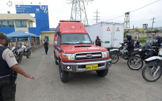 """Hay veinte personas heridas (10 en Guayaquil e igual número en Cuenca) que, """"según los reportes, estaban estables"""". Foto: API"""