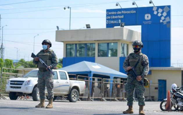 GUAYAQUIL.- Centro de Privación de Libertad ZONAL 8. Foto: API