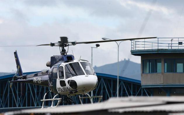 Fuerzas de seguridad habían activado el protocolo de emergencia ante un nuevo amotinamiento en Guayaquil. Foto: EFE