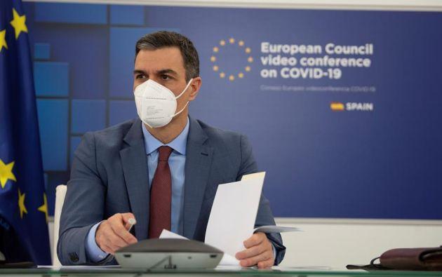 """En rueda de prensa, Sánchez manifestó que siente """"perturbación e incomodidad"""". Foto: EFE"""