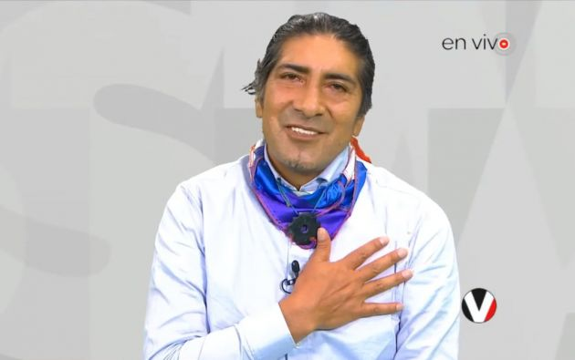 En su cumpleaños número 52, Yaku brindó una entrevista a Vistazo En Vivo. Foto: Captura