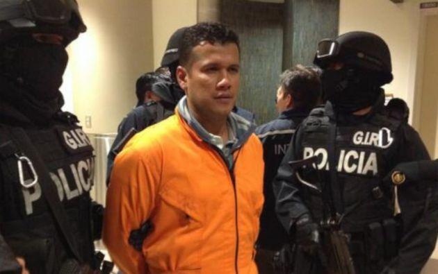 """José Serrano denunció que """"se le otorgó la prelibertad al cabecilla de Los Choneros por un acuerdo con funcionarios del Gobierno""""."""