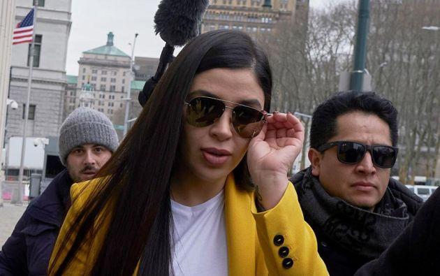 A la edad de 17 años, en una fiesta en el estado de Durango, la modelo conoció a Joaquín Guzmán (que tenía 51). Foto: EFE