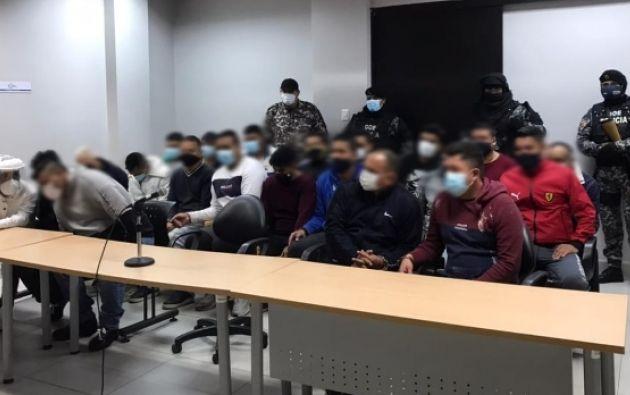 Los procesados formarían parte de un banda delincuencial originaria de la provincia de Los Ríos.