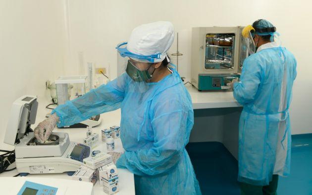 Laboratorios Julguer produce medicamentos, suplementos alimenticios y productos de higiene y uso cosmético. Foto: Vistazo.